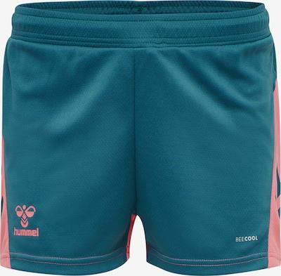 Hummel Shorts 'Action' in pastellblau / rosé, Produktansicht