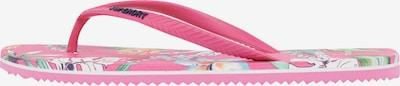Superdry Zehentrenner in mischfarben / rosa, Produktansicht