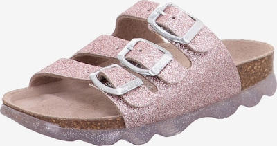 SUPERFIT Sandales en rose, Vue avec produit