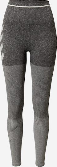 Hummel Sportske hlače u svijetlosiva / tamo siva, Pregled proizvoda