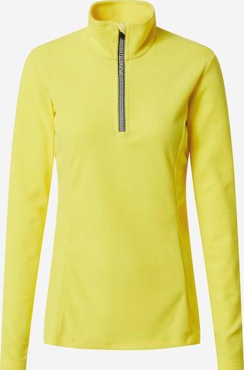 BRUNOTTI Sport-Pullover 'Misma FW2021' in gelb, Produktansicht