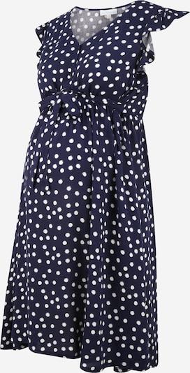 JoJo Maman Bébé Kleid in navy / weiß, Produktansicht