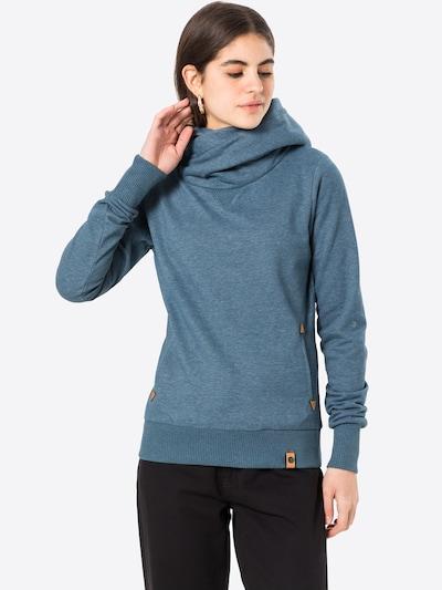 Fli Papigu Sweatshirt 'U Sexy I am Sexy' in Blue mottled, Item view