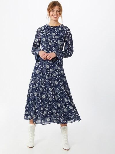 IVY & OAK Kleid in blau / weiß, Modelansicht