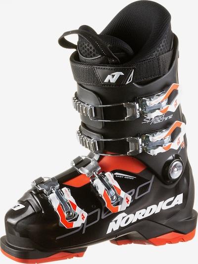 NORDICA Skischuhe in orange / schwarz / weiß, Produktansicht