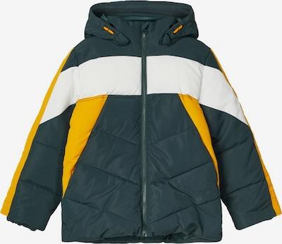 NAME IT Functionele jas in de kleur Geel / Groen / Wit, Productweergave