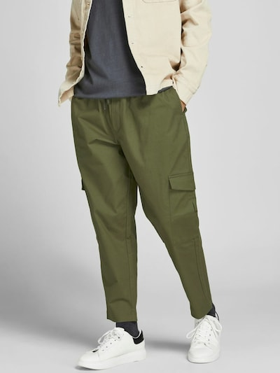 JACK & JONES Hose 'Bill Beau' in oliv, Modelansicht