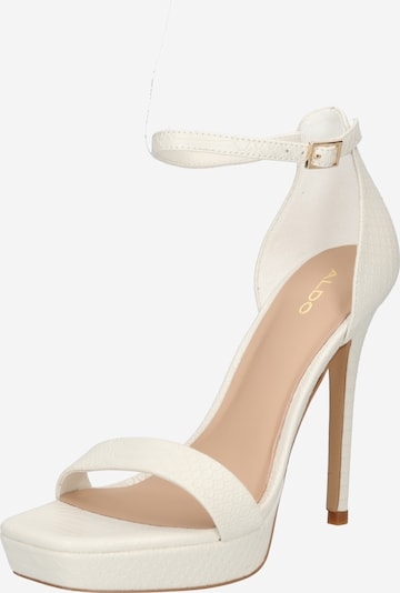 ALDO Sandalen met riem 'SCARLETT' in de kleur Wit, Productweergave