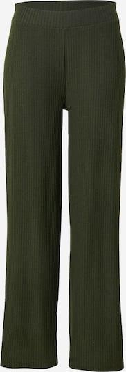 ONLY Pantalon 'NELLA' en vert foncé, Vue avec produit