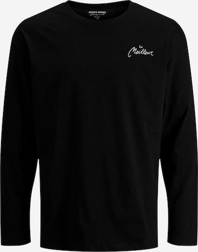 JACK & JONES Shirt in de kleur Zwart / Wit, Productweergave