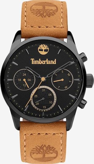 TIMBERLAND Armbanduhr in hellbraun / gold / schwarz, Produktansicht