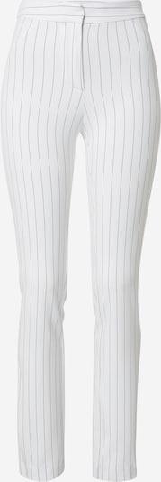WEEKDAY Pantalon 'Alecia' en noir / blanc, Vue avec produit