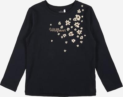 NAME IT Shirt 'VIX' in de kleur Beige / Nachtblauw, Productweergave