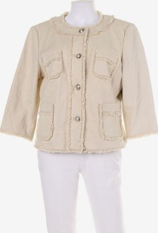 Mandarin Jacket & Coat in XL in Beige