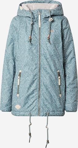 Ragwear Between-Season Jacket 'ZUZKA DIAMOND' in Green