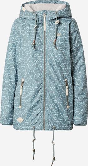 Ragwear Veste mi-saison 'ZUZKA DIAMOND' en vert pastel / blanc, Vue avec produit