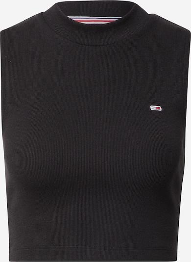 Tommy Jeans Top - ohnivo červená / čierna / biela, Produkt