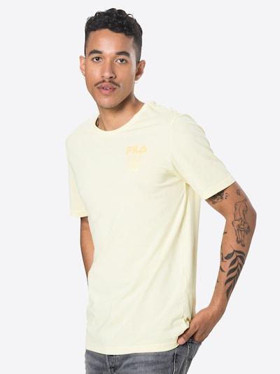 FILA T-Shirt 'Declan' en jaune pastel: Vue de face