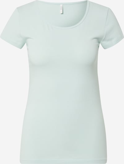 ONLY T-shirt en vert clair, Vue avec produit