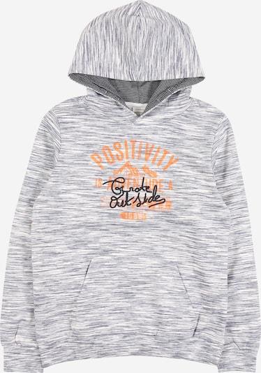 NAME IT Sweatshirt 'OIM' in graumeliert, Produktansicht