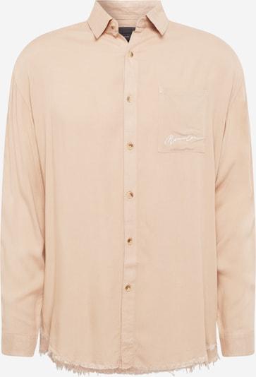 Mennace Hemd in cappuccino / weiß, Produktansicht
