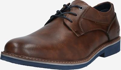 TOM TAILOR Chaussure à lacets en marron, Vue avec produit