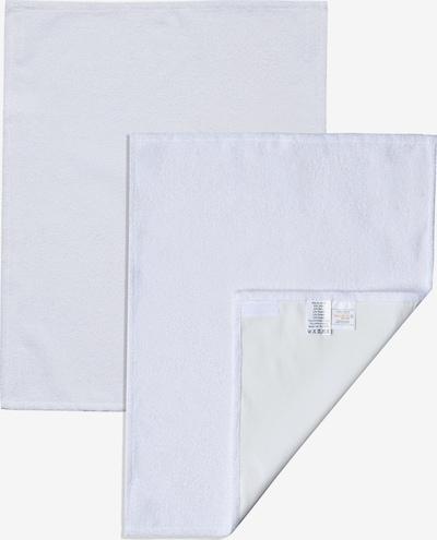 nordic coast company Wickelauflage Wechselhandtuch Set SMALL in weiß, Produktansicht