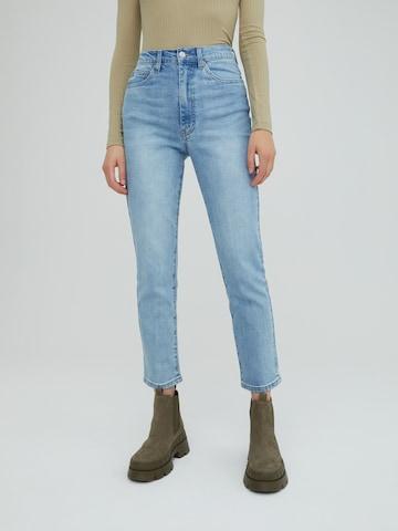 EDITED Jeans 'Natalia' in Blau