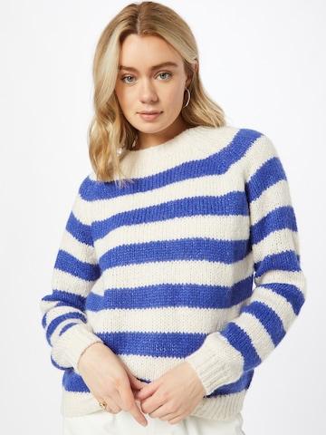 Pull-over 'Jobel' Lollys Laundry en bleu