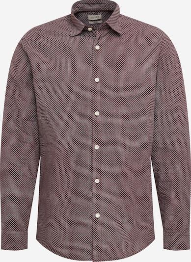 ESPRIT Overhemd in de kleur Bordeaux / Wit, Productweergave