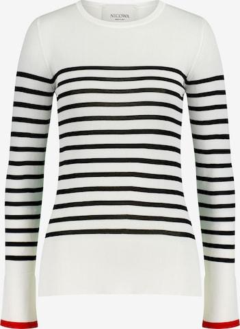 Nicowa Sweatshirt in White