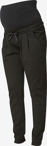 MAMALICIOUS Voltidega püksid, värv must