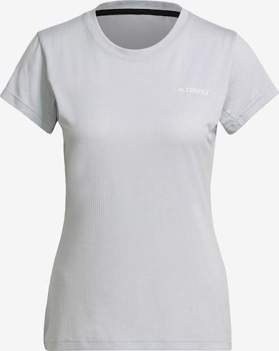 adidas Terrex Funktionsshirt in azur / weiß, Produktansicht