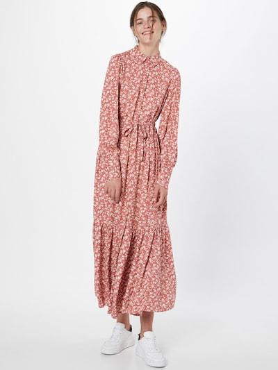 Y.A.S Kleid 'MITURA' in hellbraun / pink / weiß, Modelansicht