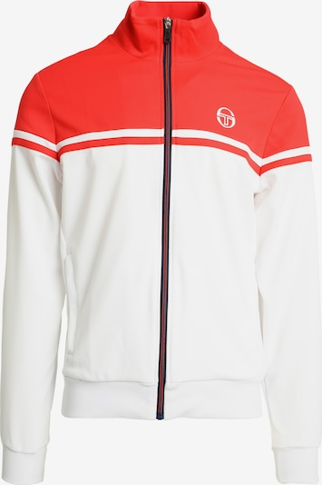 Sergio Tacchini Sportjas 'YoungLine Pro' in de kleur Rood / Wit, Productweergave