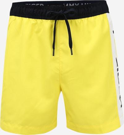 Tommy Hilfiger Underwear Zwemshorts in de kleur Geel / Zwart, Productweergave