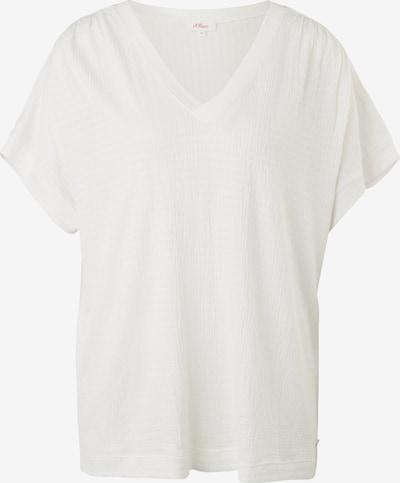 s.Oliver T-Shirt in creme, Produktansicht