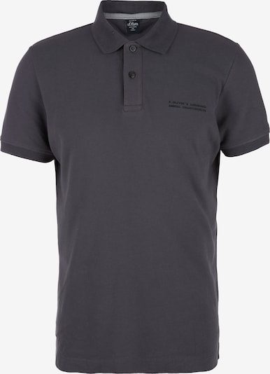 s.Oliver Poloshirt in grau: Frontalansicht