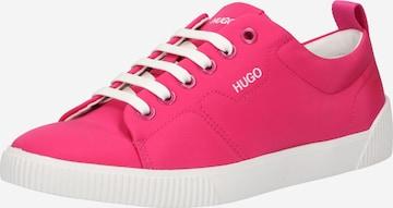 HUGO Sneakers 'Tenn' in Pink