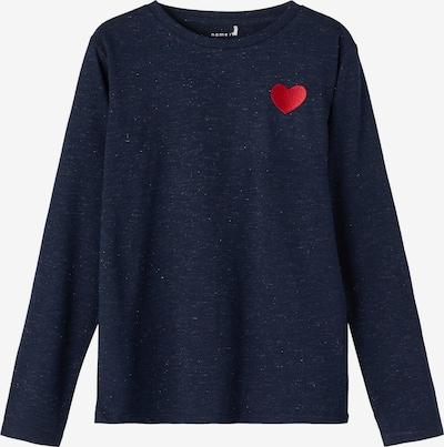 Tricou 'Oharta' NAME IT pe safir / roșu, Vizualizare produs