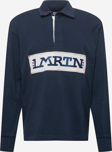 La Martina Sweatshirt in navy / dunkelrot / weiß, Produktansicht