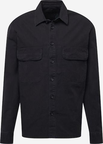 Camicia 'SELED' di DRYKORN in nero