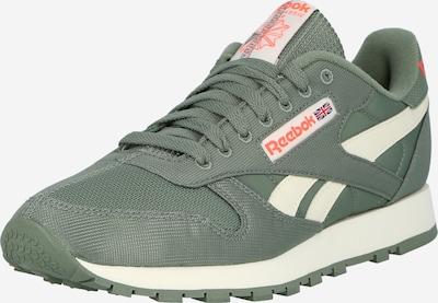 Reebok Classic Zapatillas deportivas bajas en verde pastel / naranja neón / blanco, Vista del producto