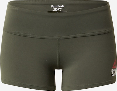 REEBOK Sportbroek in de kleur Groen, Productweergave