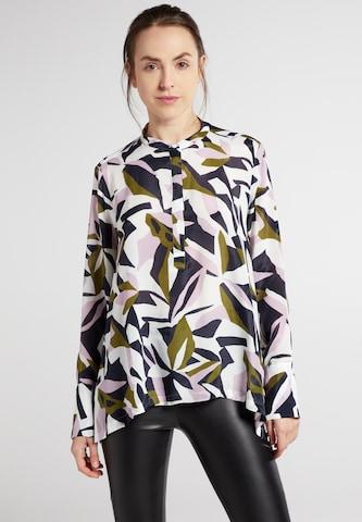 ETERNA Bluse in Mischfarben
