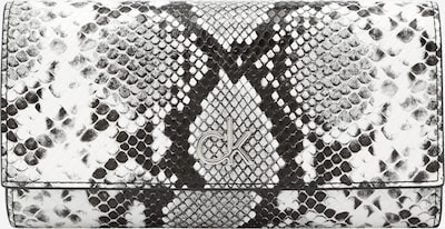 szürke melír / fekete / fehér Calvin Klein Pénztárcák, Termék nézet