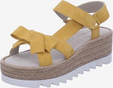 GERRY WEBER SHOES Sandale in Gelb