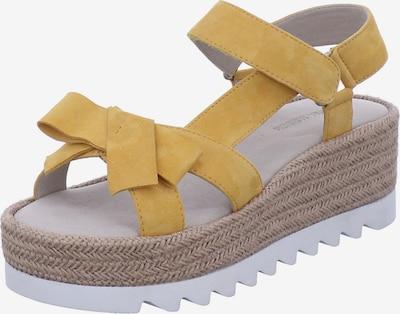 GERRY WEBER SHOES Sandale in senf, Produktansicht