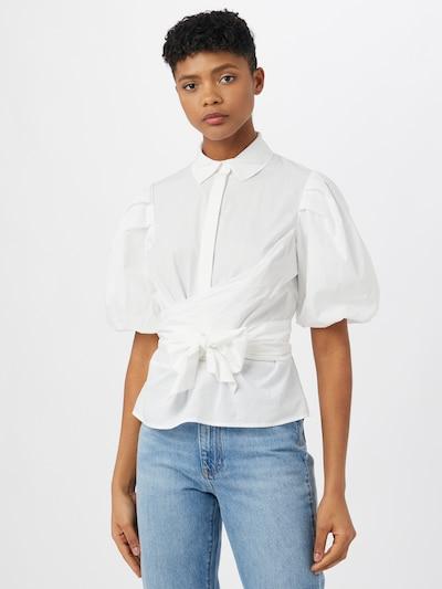 Envii Blouse 'LEILANI' in de kleur Wit, Modelweergave
