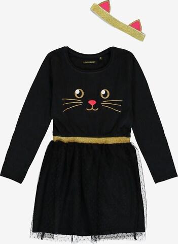 LEMON BERET Dress in Black